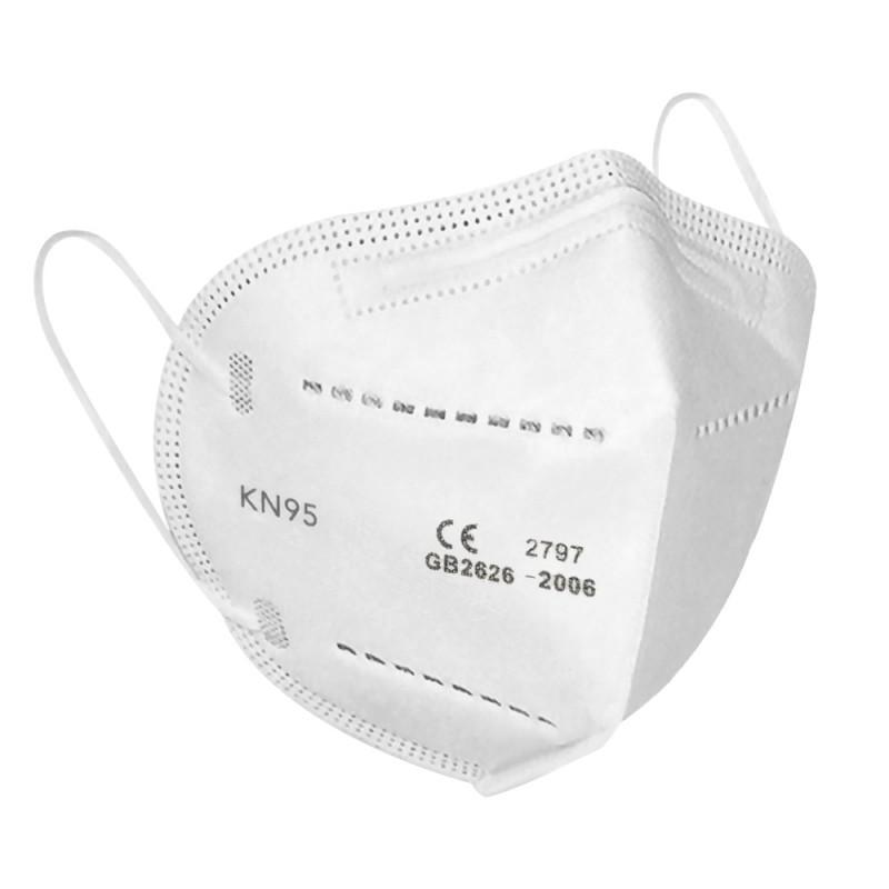 Set 10 bucăți Mască de protecție, FFP2, KN95
