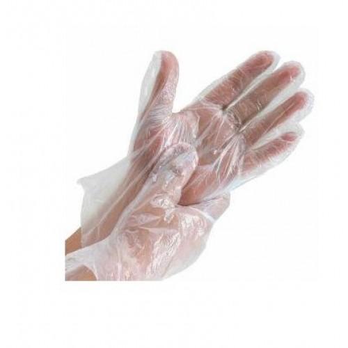 Set 100 bucăti mănuși din polietilenă