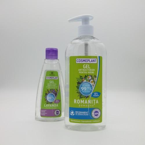 Gel Dezinfectant Antibacterian 500 ml + cadou 200 ml